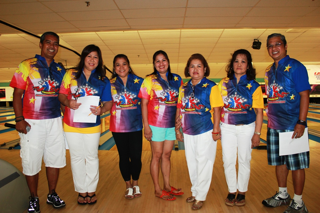"The 2014 COMMISSIONERS | 6th Annual Falconn ""Kapamilya Cup"" Bowling League"