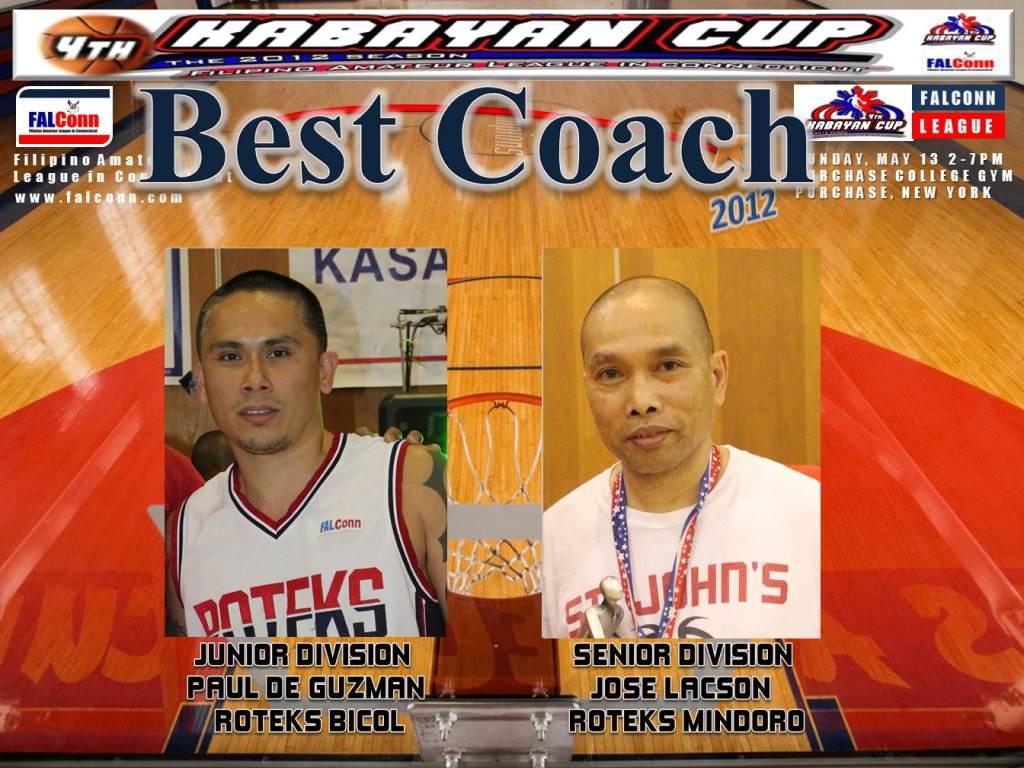 009-best coach 2012