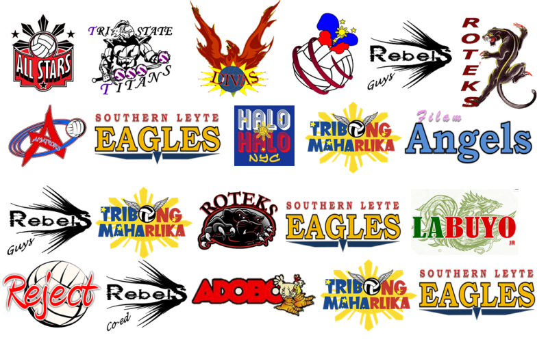 volleball 2012 teams-logos-800x