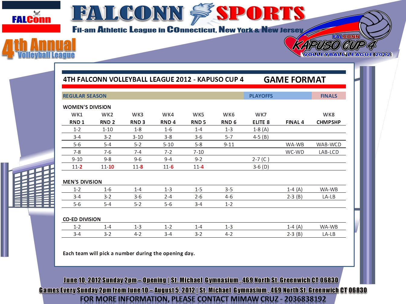 volleyball format 2012