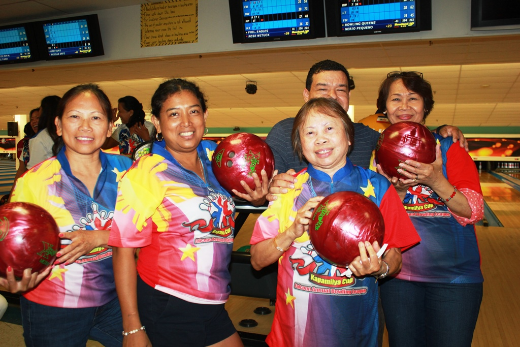 "BOWLING QUEEN | 6th Annual Falconn ""Kapamilya Cup"" Bowling League"