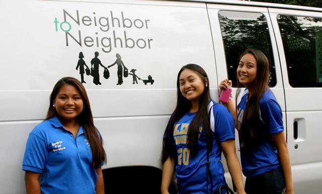 Volunteering @ Greenwich Neighbor to Neighbor.